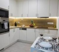 Fully Equipped Kitchen (Fridge, Freezer, Oven, Microwave, Washing Machine, Coffee Machine)